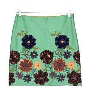 Sevier Skirts Skirts - SEVIER SKIRTS Custom Floral Embroidered Skirt !